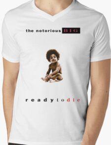 Notorious Big Baby Album Mens V-Neck T-Shirt