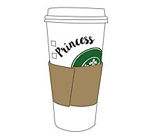 Princess Coffee Photographic Print