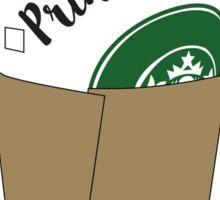 Princess Coffee Sticker