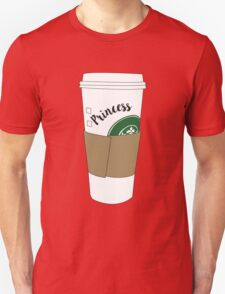 Princess Coffee Unisex T-Shirt