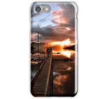 Lake Te Anau Sunset. New Zealand iPhone Case/Skin