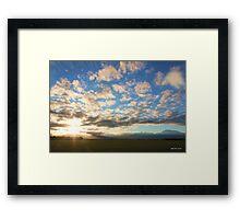 Canterbury Dawn - Limited Edition Print 1/10  Framed Print