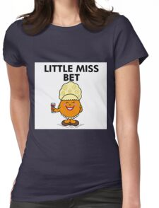 Little Miss Bet Lynch Mr Man Womens Fitted T-Shirt