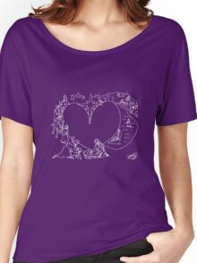 Wrapped in the arms of His love Women's Relaxed Fit T-Shirt