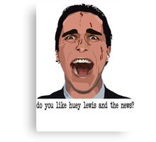 An American Psycho Canvas Print