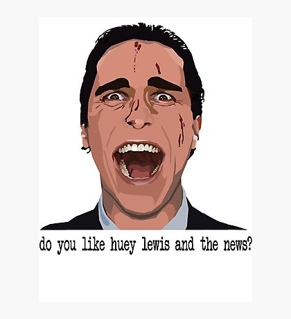 An American Psycho Photographic Print
