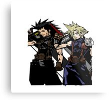 My Living Legacy: Zack Fair and Cloud Strife Metal Print