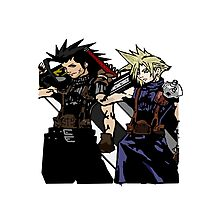 My Living Legacy: Zack Fair and Cloud Strife Photographic Print