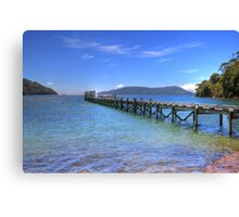 The Old Jetty - Limited Edition Print 2/10 Canvas Print
