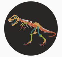 Tyrannosaurus Rex Skeleton Baby Tee