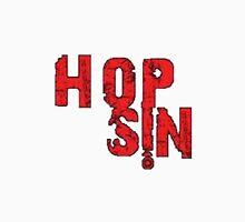 Faded Red Hopsin Logo Unisex T-Shirt