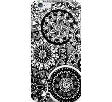 Mandala circles  iPhone Case/Skin