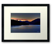 Stillness - Limited Edition Print 1/10 Framed Print