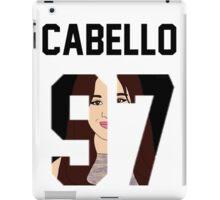 "Cabello'97 ""Face"" Jersey iPad Case/Skin"