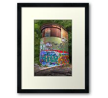 Urban Graffiti - Limited Edition Print 1/10 Framed Print