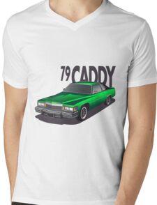 1979 Cadillac Coupe de Ville Mens V-Neck T-Shirt