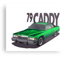 1979 Cadillac Coupe de Ville Metal Print
