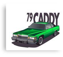 1979 Cadillac Coupe de Ville Canvas Print