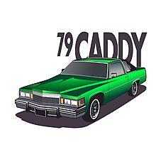 1979 Cadillac Coupe de Ville Photographic Print
