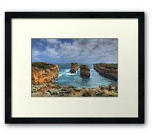 Coastal Pillars - Limited Edition Prin 1/10 Framed Print