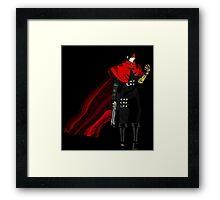 The nightmare begins: Vincent valentine. Framed Print