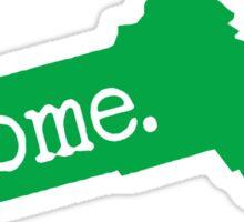 Massachusetts Home MA Green Sticker