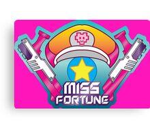 Miss Fortune Arcade Canvas Print
