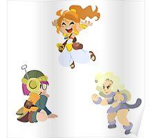Chrono Trigger Girls Poster
