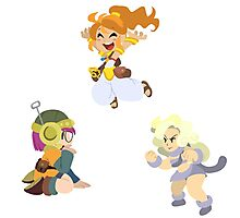 Chrono Trigger Girls Photographic Print