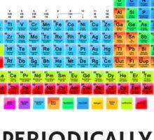 I Study Chemistry Periodically Sticker