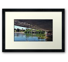 Heading To The Dock Framed Print