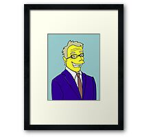Tim Bailey - Weatherman Channel Ten Framed Print