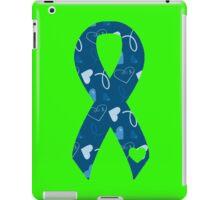Blue Ribbon 1 iPad Case/Skin