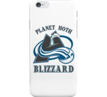 Planet Hoth Blizzard iPhone Case/Skin