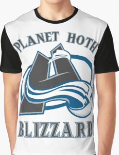 Planet Hoth Blizzard Graphic T-Shirt