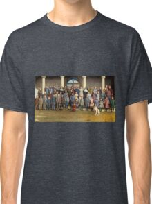 Colorized Students & faculty of a Catholic School 1920 Classic T-Shirt