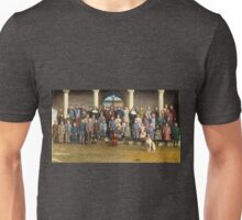 Colorized Students & faculty of a Catholic School 1920 Unisex T-Shirt