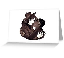 GOTH WESTERN - Entangled Greeting Card