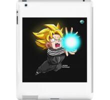 """Goku """"Adidas"""" (@AkaiTheDesigner) iPad Case/Skin"""