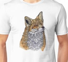 Fox Portrait Unisex T-Shirt