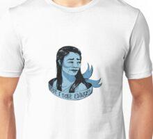 Eliza Ribbon Portrait Unisex T-Shirt