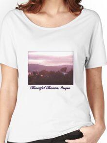 Sunrise Over the Columbia River #9 Women's Relaxed Fit T-Shirt