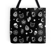 Witch Pattern Tote Bag