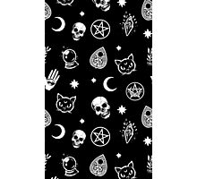 Witch Pattern Photographic Print