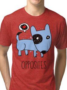 [Men] Opposites Attract Tri-blend T-Shirt