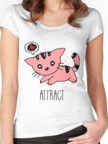 [Women] Opposites Attract Women's Fitted Scoop T-Shirt