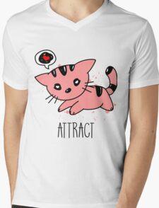 [Women] Opposites Attract Mens V-Neck T-Shirt