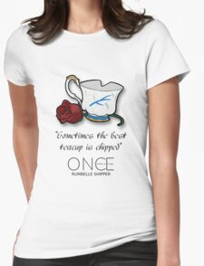 OUAT: Rumbelle  Womens Fitted T-Shirt