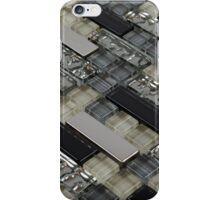 Ceramic tile block iPhone Case/Skin