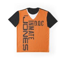 Inmate Jon jones Graphic T-Shirt